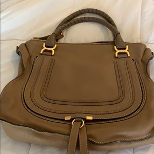 Almost new 100% authentic Chloe Marcie hand bag